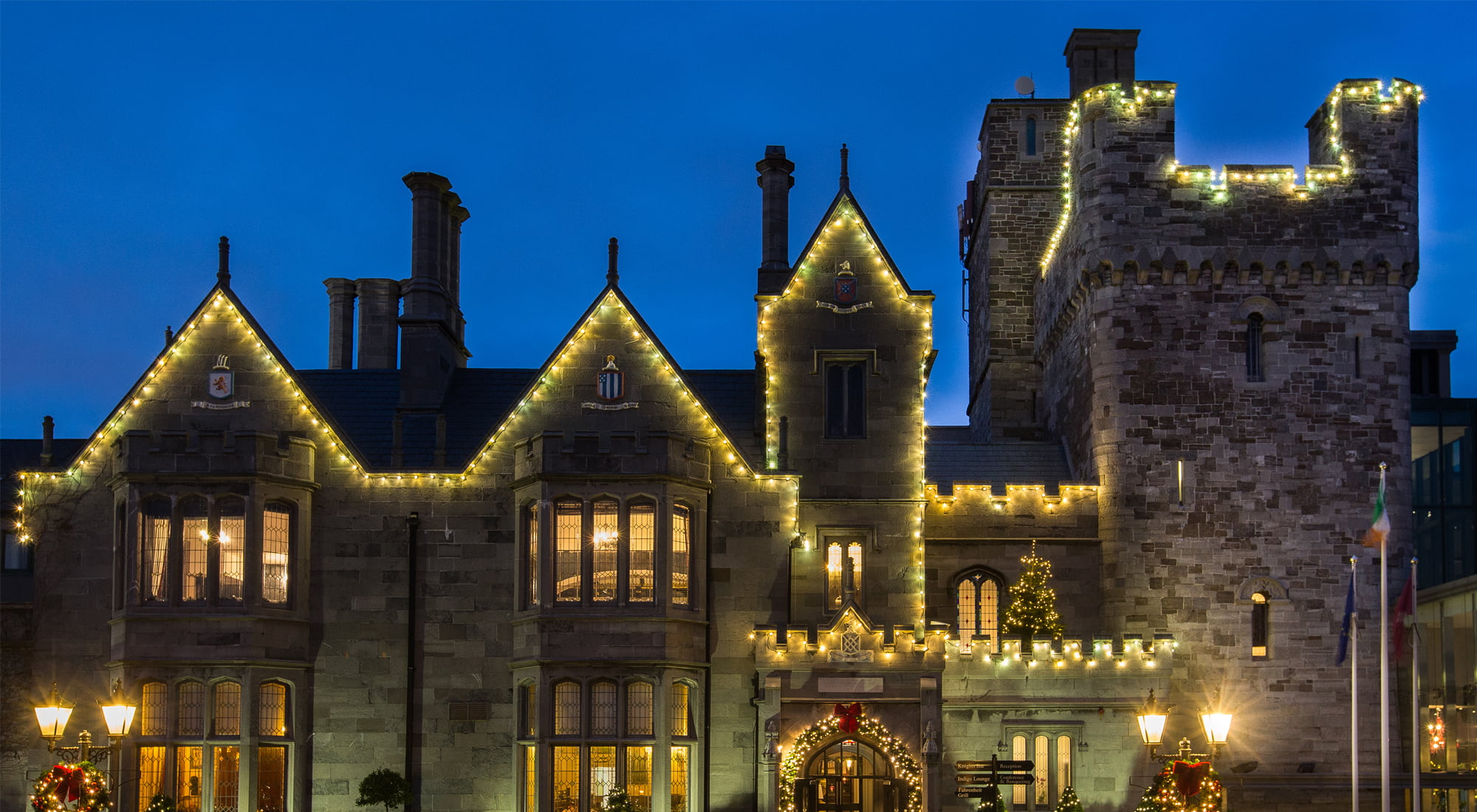 Christmas at Clontarf Castle Hotel
